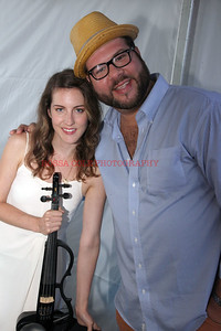 Emily Holden, DJ Chris Bachman
