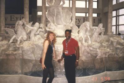 1999-05-23 Restaurant Show Statues