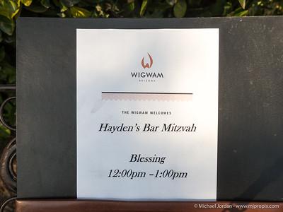 Hayden's Bar Mitzvah