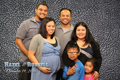 Hazel and Russell Baby Shower