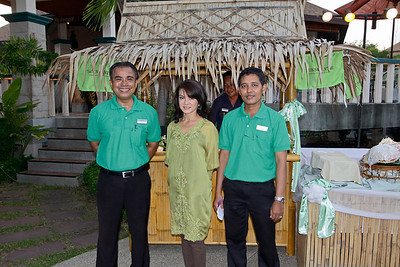 "Phuket Health & Fitness Festival 2012 - Opening Party at Mangosteen Resort & Ayurveda Spa! Started early morning with the ""plant a tree"" ceremony by Dr. Subhash, evevning party with healthy cocktail, light dishes on the pool deck with Anand Jagota's Music and the special show by Ahmad Alkhatib, the Dervish!"