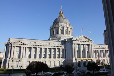 The Herbst, at 401 Van Ness Ave, is directly across of San Francisco's city hall.