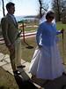 Flo und Braut beim Minigolf