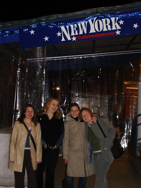 Junggesellinnenabschied in München: New York Tabledance