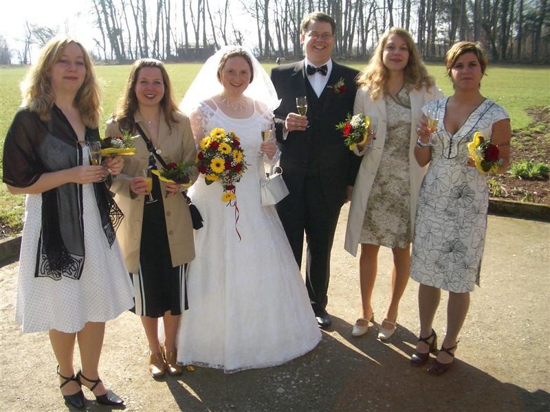 Brautpaar Jungfern