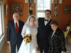 Brautpaar mit Bräutigamsgrosseltern