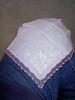 selbstgestickte Taschentücher von Oma Pape