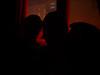 Wir im Rotlicht (ohne Blitz)