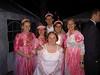 Braut mit Brautjungfern und Flo