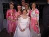 Braut mit Brautjungfern und Flo II