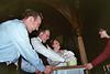 Brautpaar bei der Arbeit