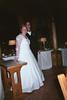 Brautpaar wartet auf nächste Übung