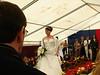 Kleid auf Brautmesse