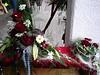 Blumengestecke auf der Messe