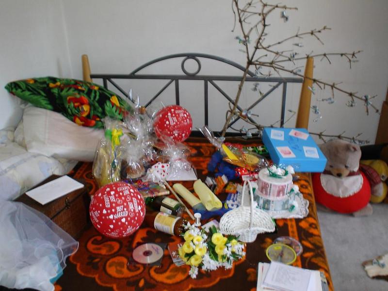 Viele, viele Geschenke am Tag danach