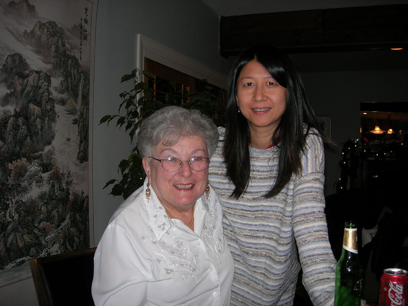 Mom and Dongmei