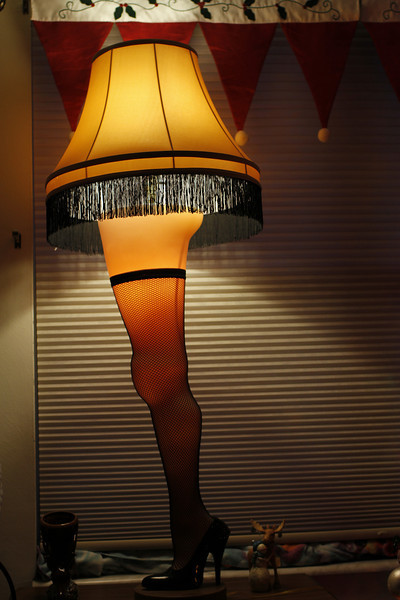 Cyndy's Leg Lamp