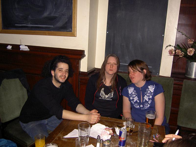 Phillipe, Jenny and Holly