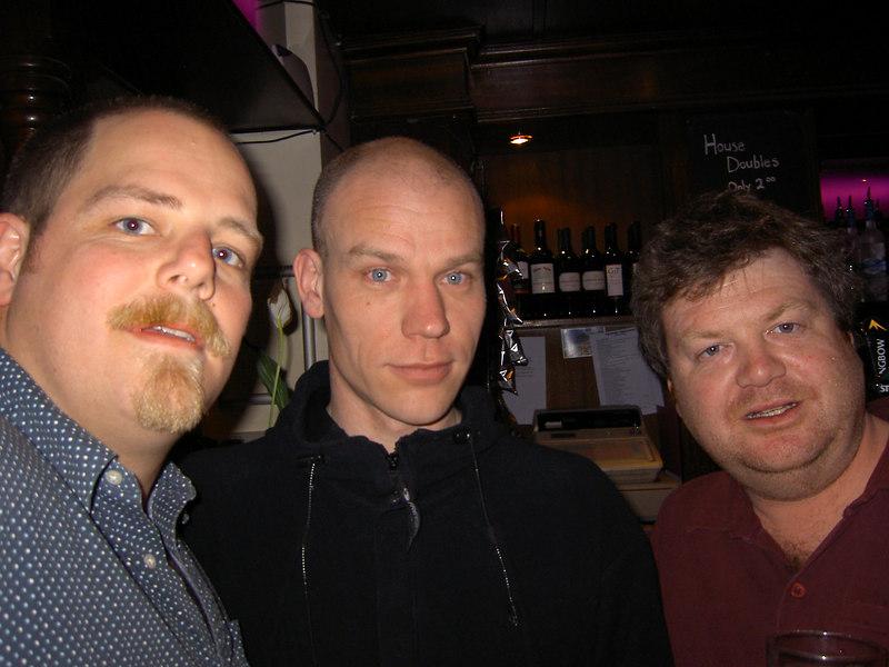 Simon, Steve, Scott