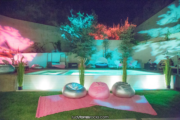 Coptton Candy Afterparty off of Queens Court, WeHo 4.10.2015