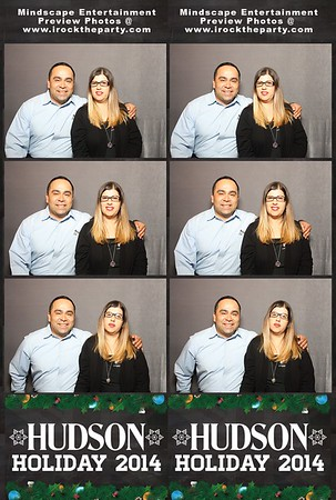 Hudson Jeans Holiday Party - Photo Booth Pictures