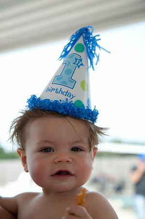 ian turner, first birthday