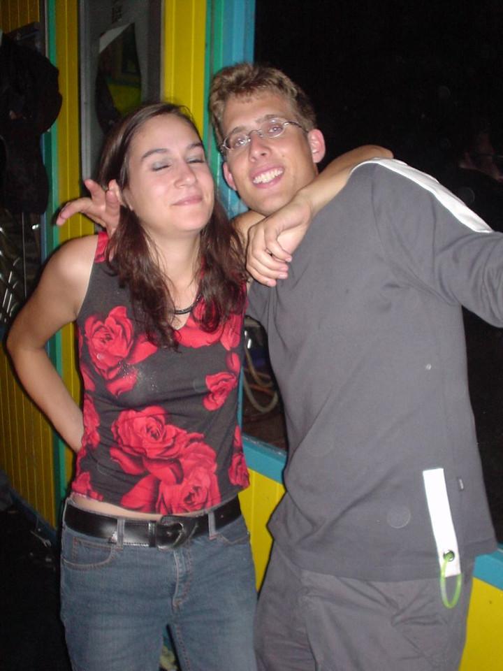 Eric and his friend from Belgium (Antwerpen)
