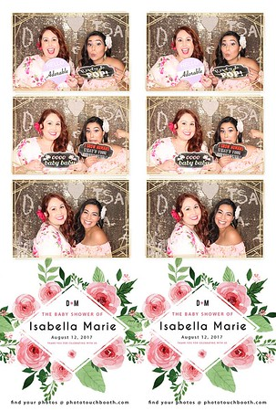 Isabella Marie's Baby Shower