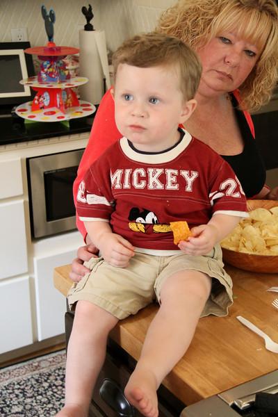 Jackson Reynold's 2nd Birthday at Nicks 7-11-2010 1-47-24 AM
