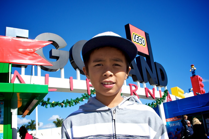 <center>For Jacob's 10th birthday, he wanted to spend the day @ Legoland in Carlsbad</center>