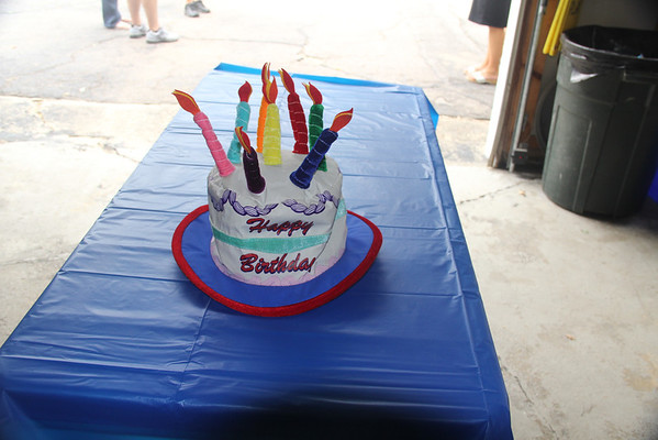 Jake's 7th birthday party