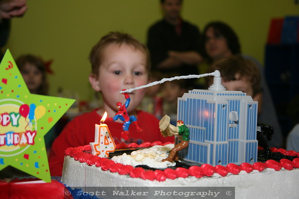 Jameson's 4th Birthday Party