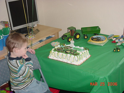 Jared's 3rd b.d.