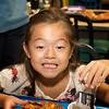 <center>Sammy enjoying her pizza</center>