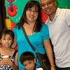 <center>the Ramos family: Hailey, Joy, Myles, and Arceo</center>