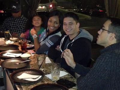 Jenny's Birtday Dinner at Sayaka's Dec. 2013