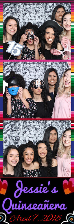Jessies's Quinceanera  - April 7, 2018