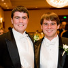 Escorts Colin Avant and Jay Austin (2007 WHS grads)