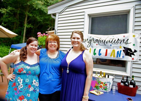 Jillian's graduation party