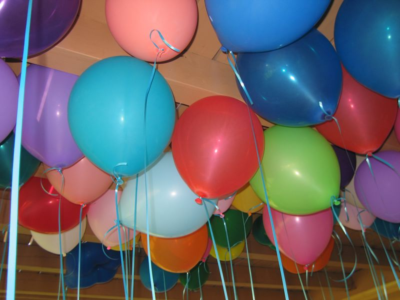 """My attempt at an """"arty"""" balloon picture"""