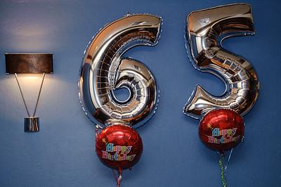 John's 65th birthday