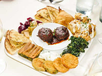Meze Plate at Petros