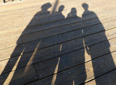 Linda, Ray, Dick and Joyce on Santa Monica Pier