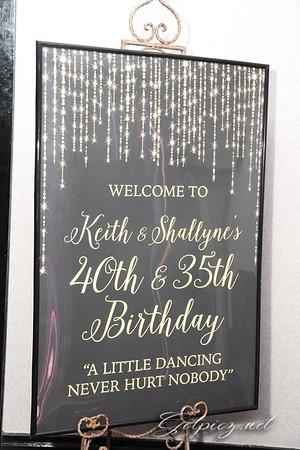KEITH & SHALLYNE'S CLASIC BIRTHDAY CELEBRATION 4/15/17