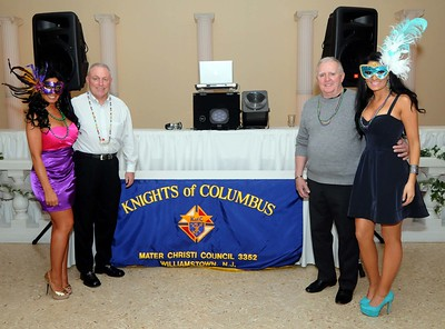 KNIGHTS OF COLUMBUS COUNCIL # 3352 -MARDI GRAS PARTY-02/18/12