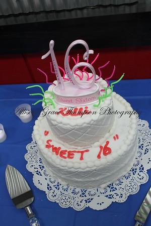 Kalli's Sweet Sixteen