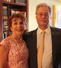 Karen and husband Eric Zahler
