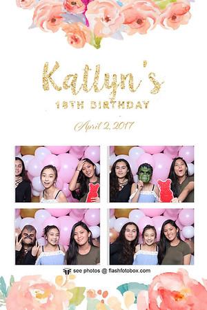 Katlyn 18th Birthday