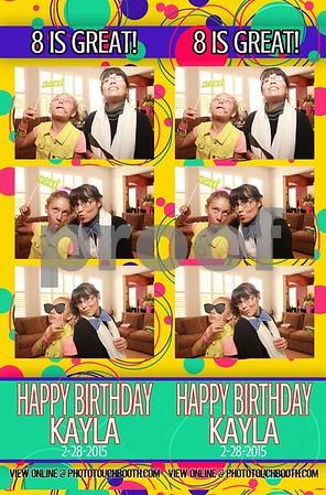 Kayla's 8th Birthday
