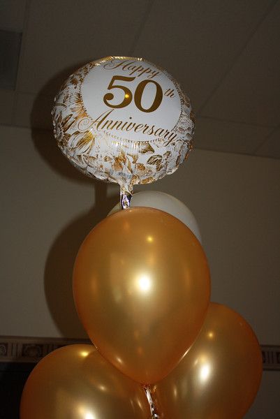 Keigher's 50th wedding anniversary party